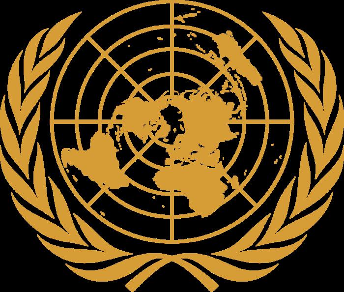 United Nations logo, logotype, emblem