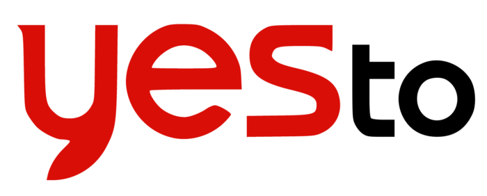 Yes To logo, red