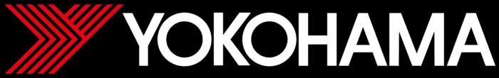 Yokohama logo, black bg