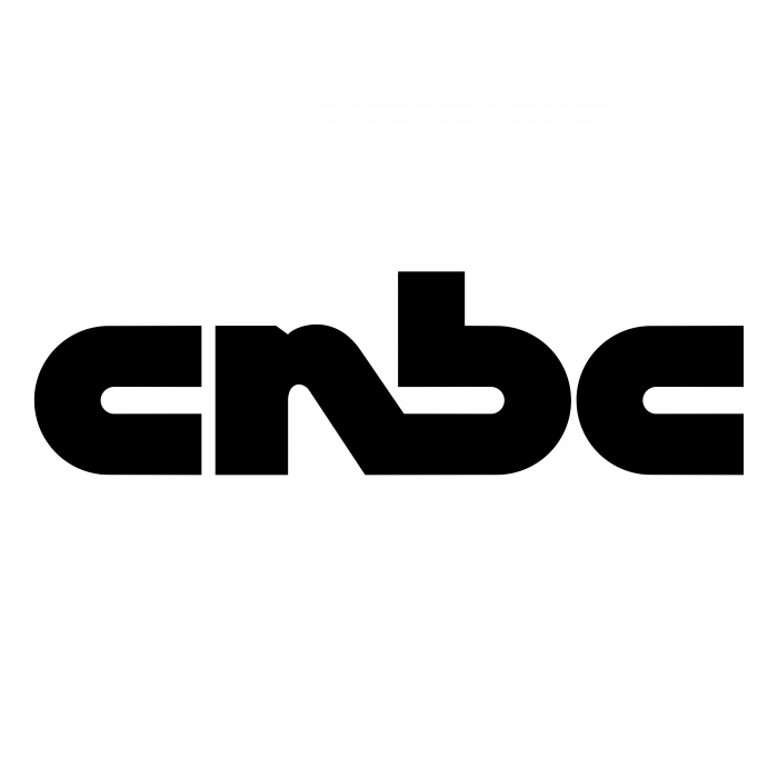 CNBC logo black