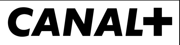 Canal+ logo, white bg