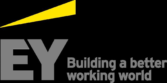 EY logo, slogan