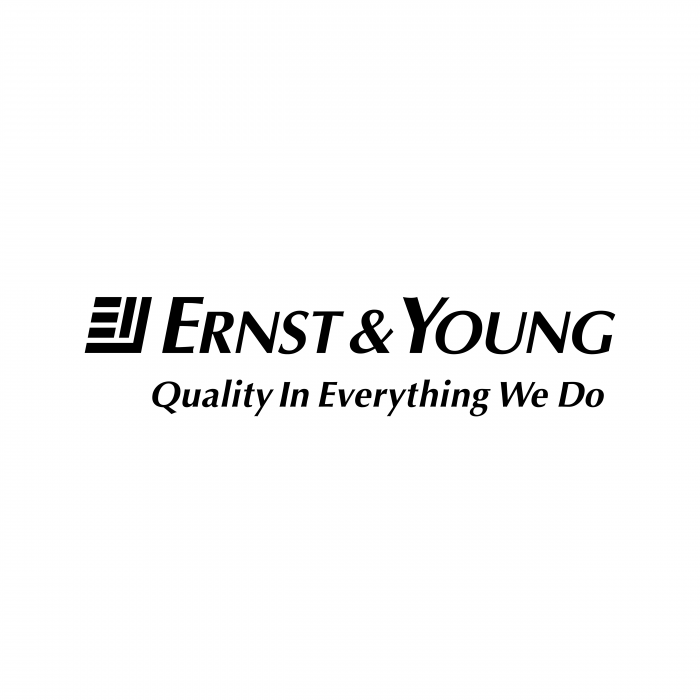 Ernst Young logo black