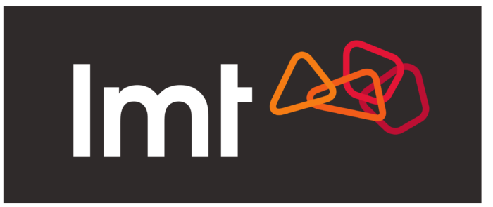 LMT logo, black bg