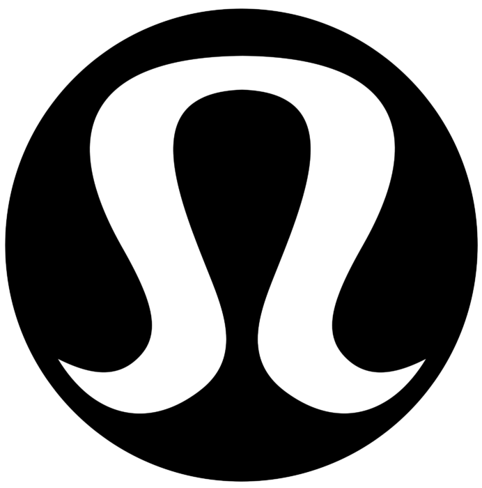 Lululemon logo, black