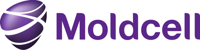 Moldcell logo, with gradient