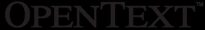 OpenText logo (Open Text)
