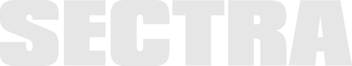 Sectra logo, wordmark