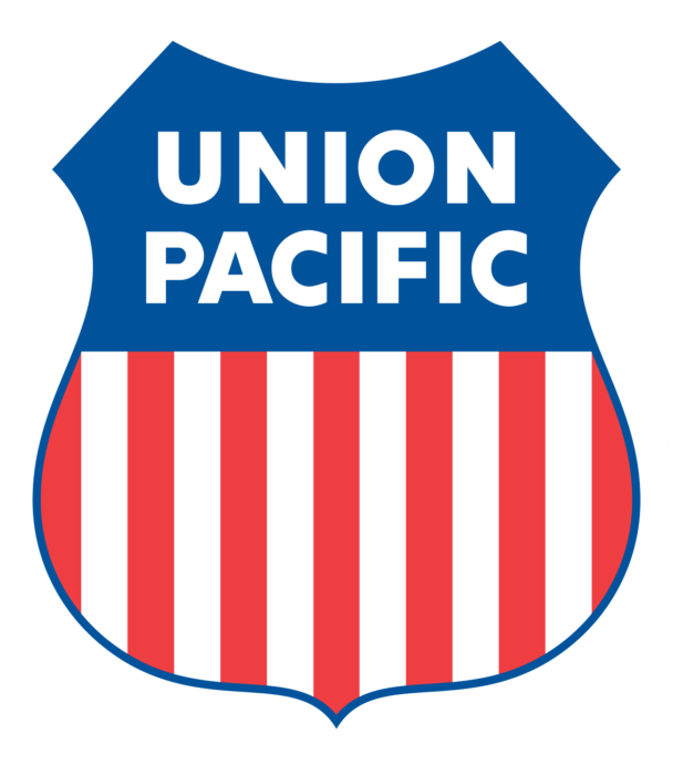 Union Pacific logo, logotype, emblem