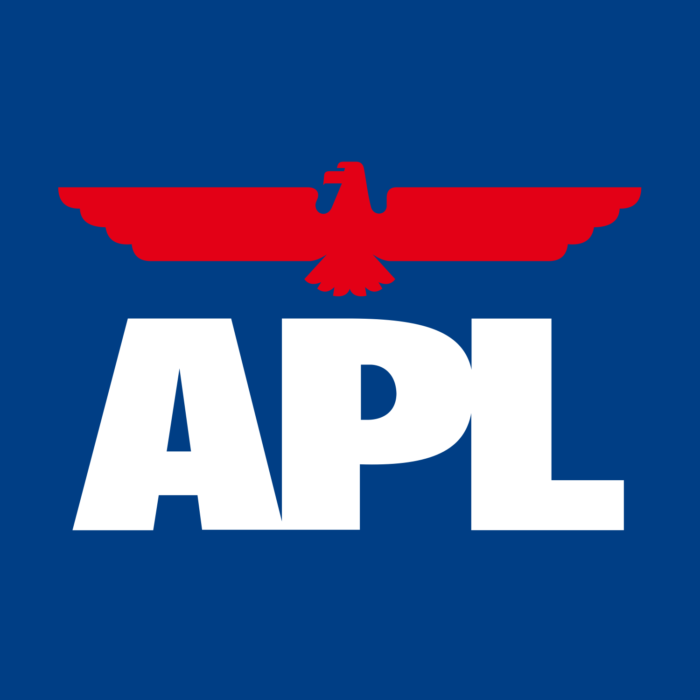 APL logo, blue