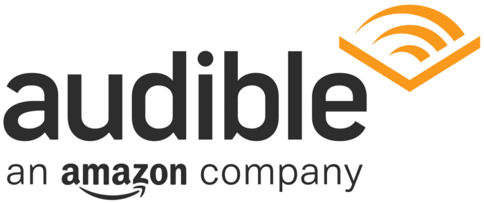 Audible logo (an Amazon company)