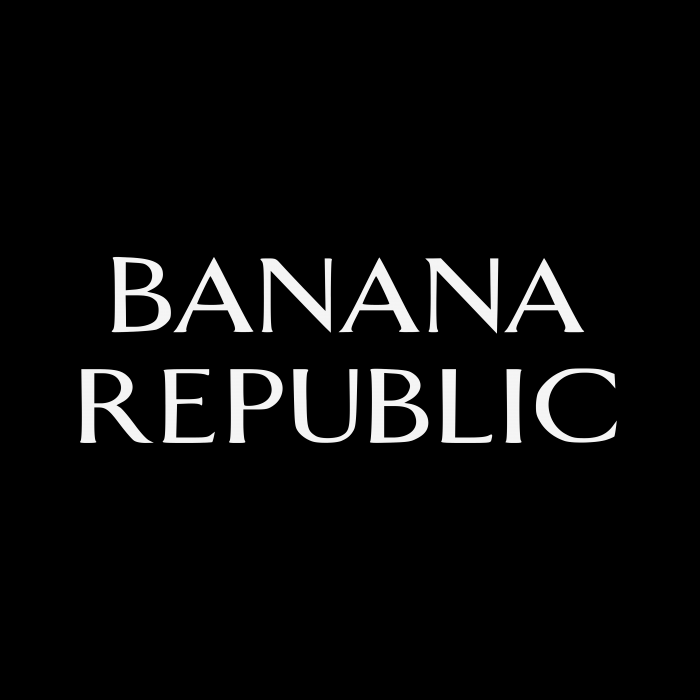 Banana Republic logo cube