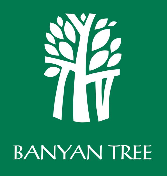 Banyan Tree logo, green