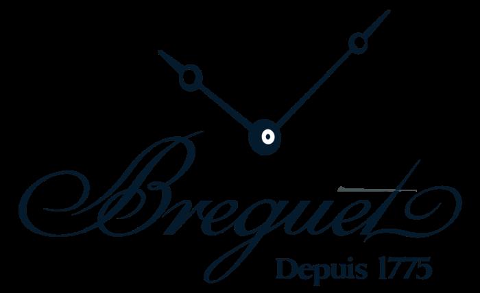 Breguet logo, blue