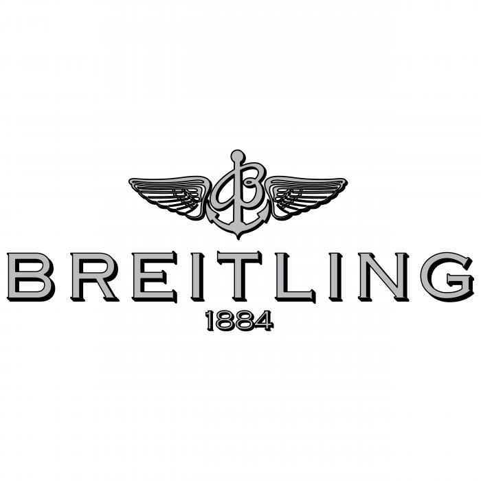 Breitling logo grey