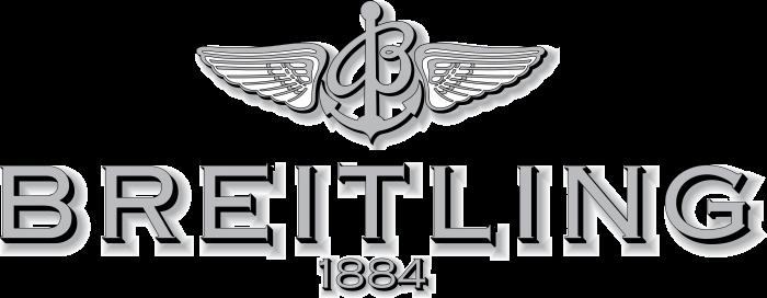 Breitling logo silver