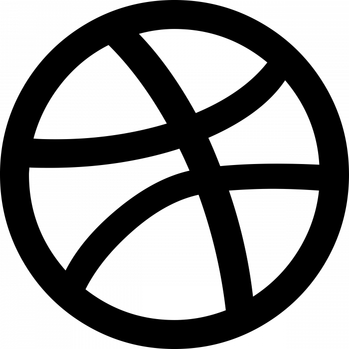 Dribbble logo cercle