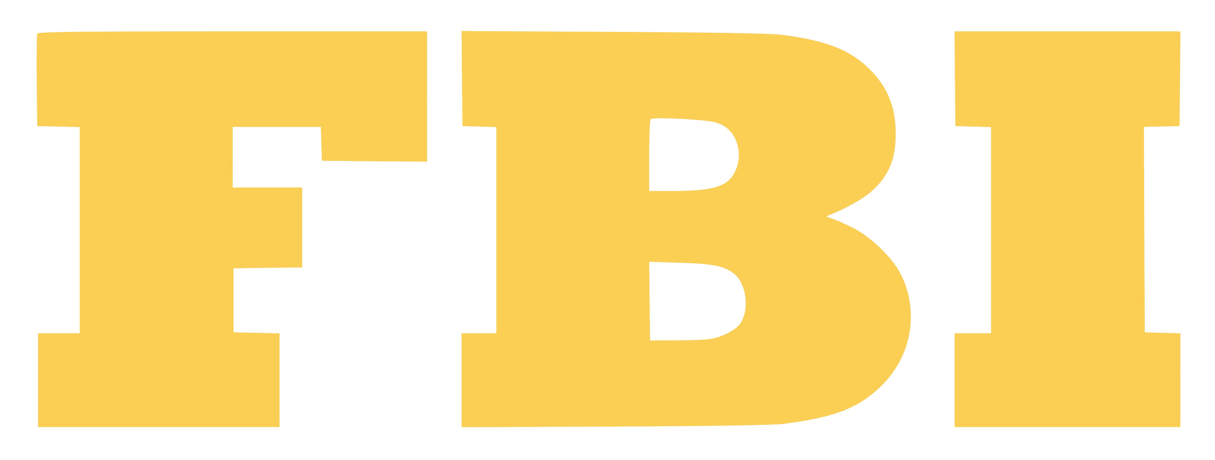 F.B.I  Federal Bureau of Investigation FBI_logo
