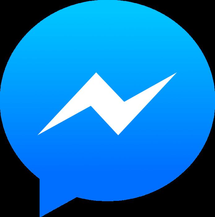 Facebook Messenger logo, gradient
