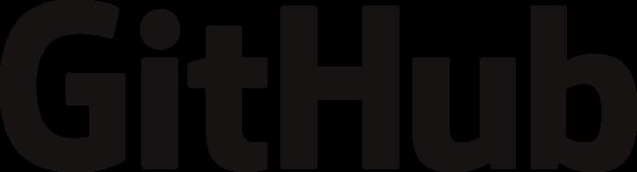 GitHub logo, wordmark
