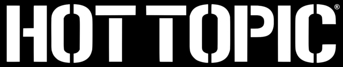 Hot Topic logo, black
