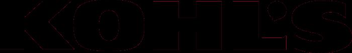 Kohl's logo, black (Kohls)