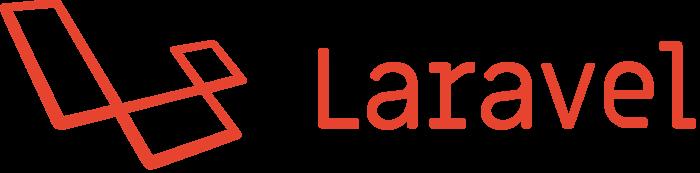 Laravel logo, wordmark, logotype