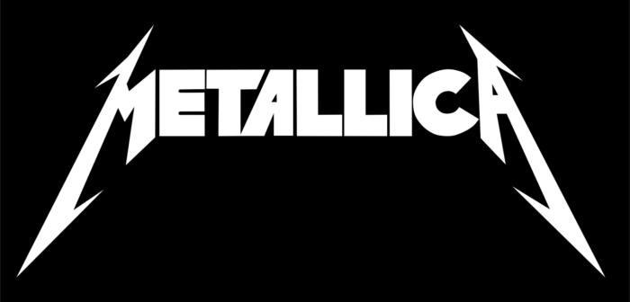 Metallica logo, black