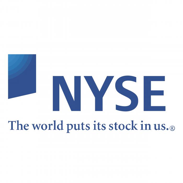 NYSE logo blue