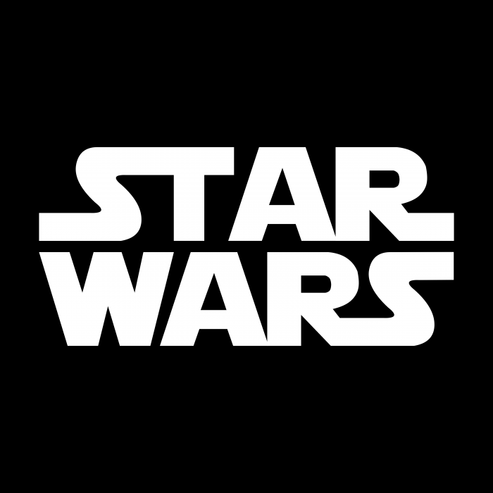 Star Wars logo black