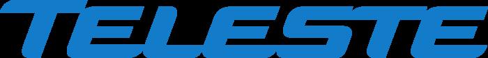 Teleste logo, blue