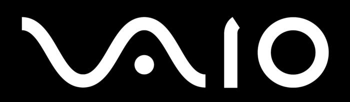 VAIO logo, black