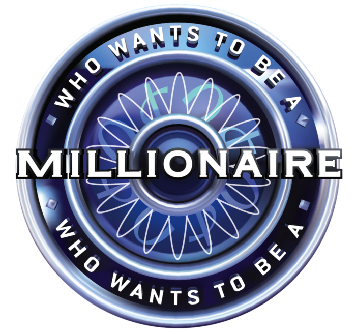 Who Wants To Be A Millionaire logo, logotype