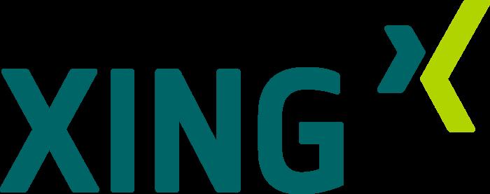 Xing logo, logotype
