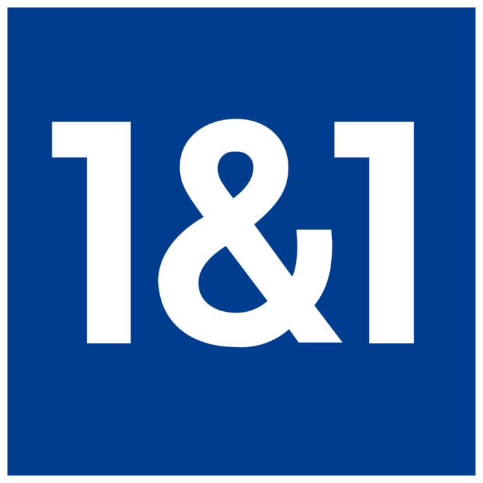 1&1 logo (1 and 1)