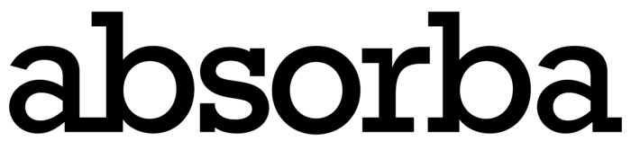 Absorba logo, black