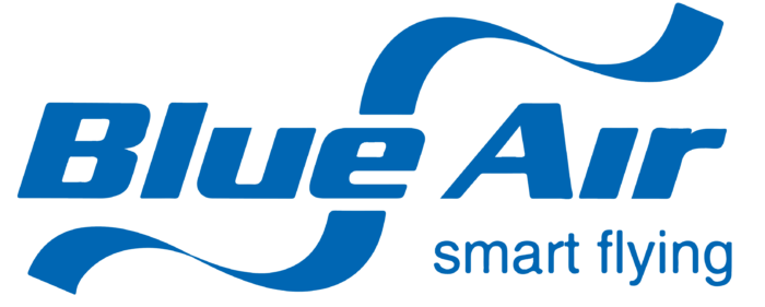 Blue Air logo, logotype