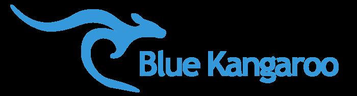 Blue Kangaroo logo, symbol