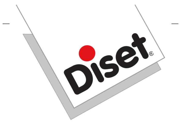Diset logo, logotype, emblem