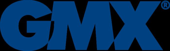 GMX logo, blue