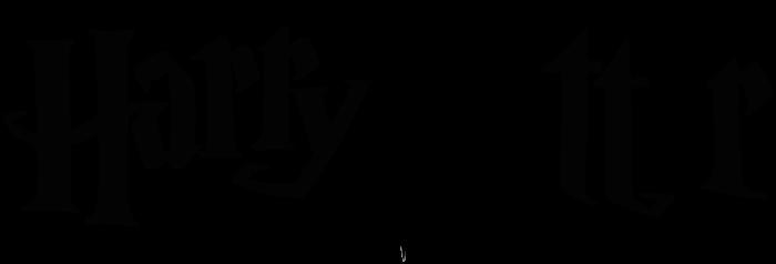 Harry Potter logo, wordmark