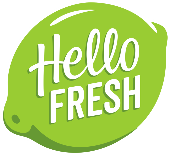 HelloFresh logo (hello fresh)