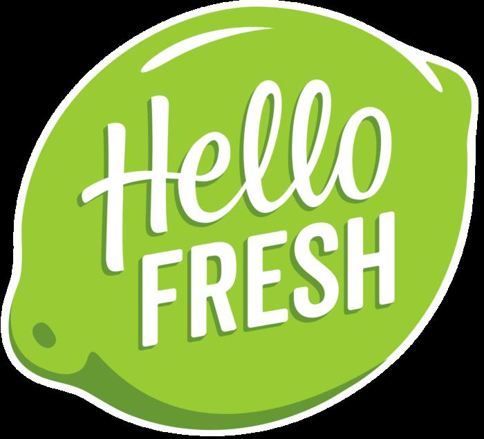 HelloFresh logo (hello fresh)