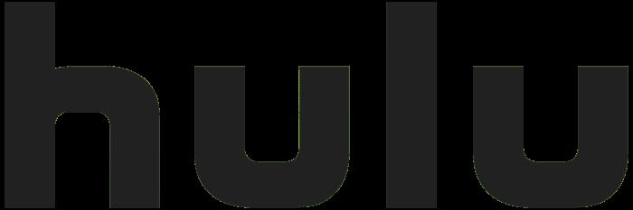 Hulu logo, gray