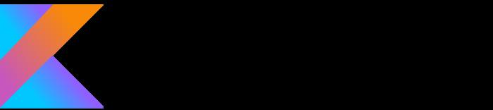 Kotlin logo, wordmark