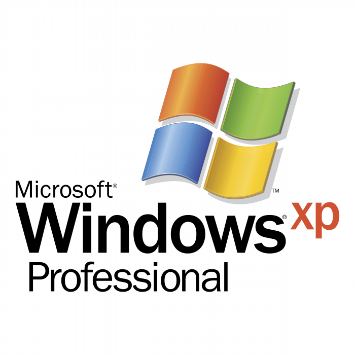 Microsoft Windows XP logo professional