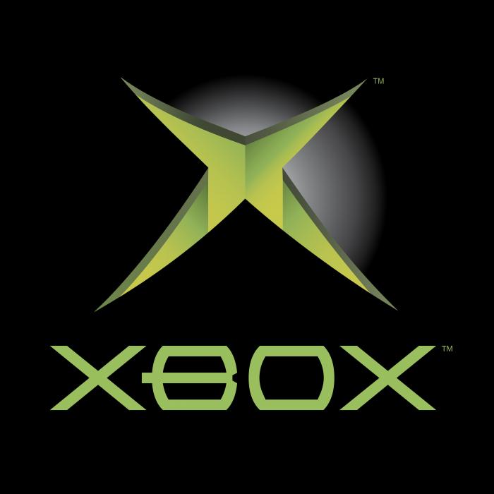 Microsoft XBox logo black