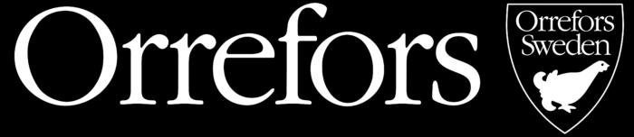 Orrefors logo, black