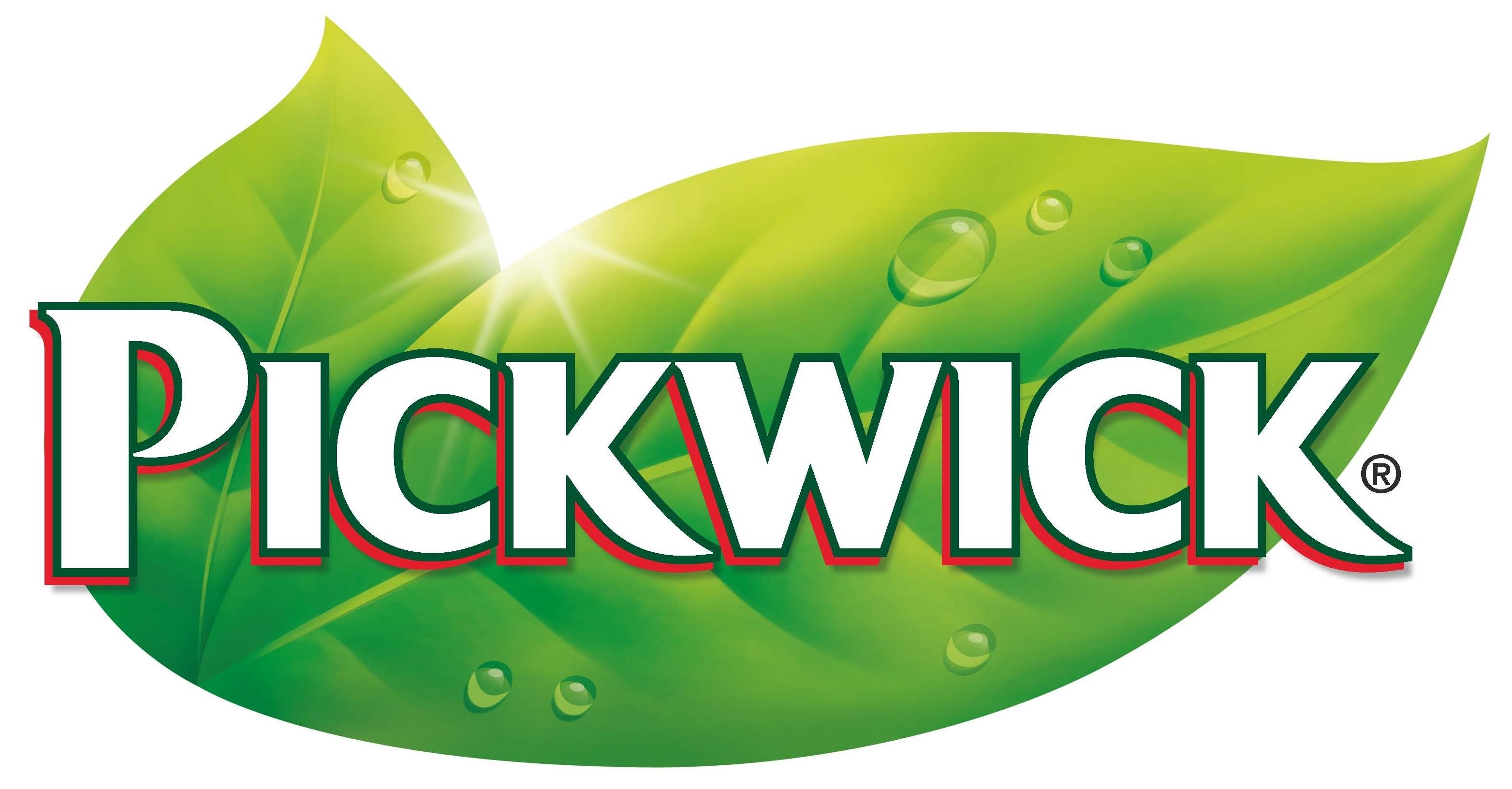 Pickwick Tea logo, logotype