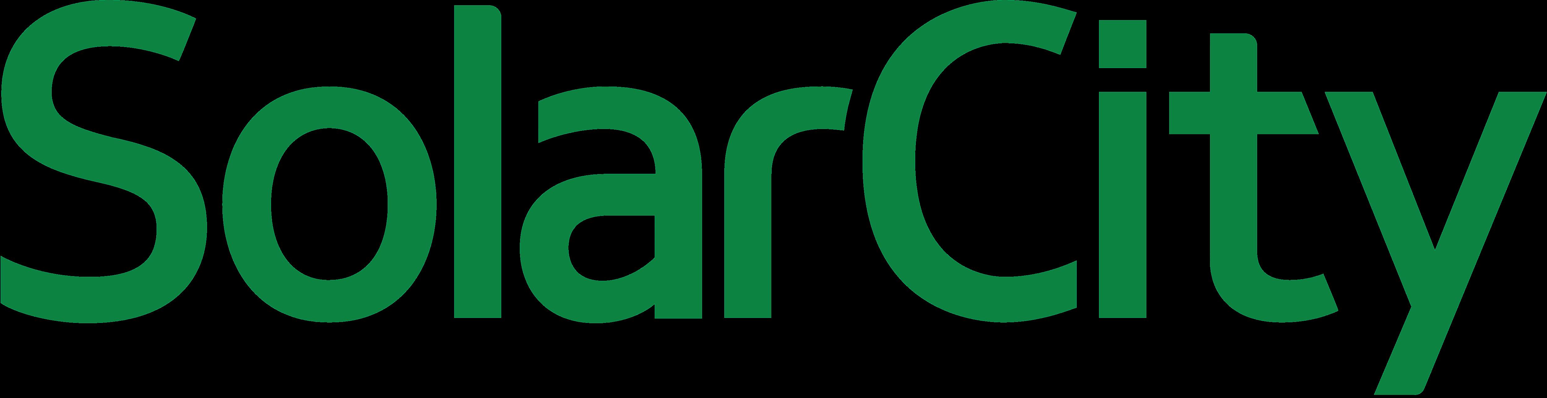 solarcity solar city � logos download